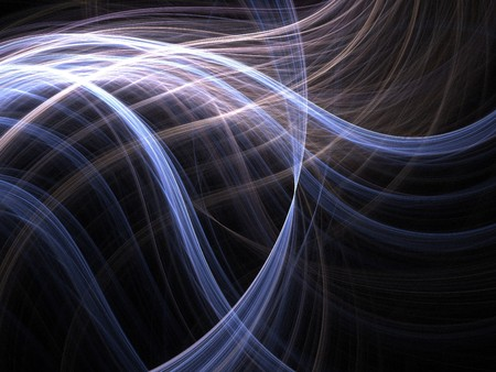 smoothness: Graphics texture. Computer rendered background. 3D fractal. Abstract light waves.