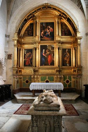 Chapel of the Visitation (Capilla de la Visitacion) in Burgos Cathedral, Castilia, Spain.