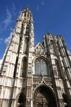 Cathedral of Our Lady in Antwerp, Belgium (Onze-Lieve-Vrouwekathedraal) Stock Photo - 4752047