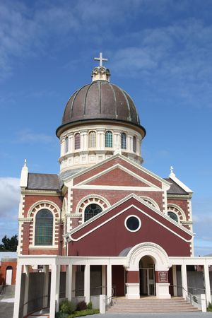 nz: St. Mary Basilica in Invercargill, New Zealand. Built by famous NZ architect - Francis Petre.