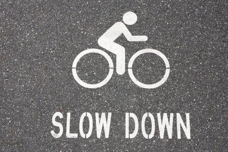 slow: SLOW DOWN