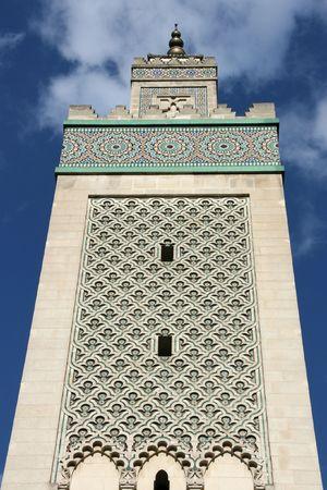 grande: Great Mosque of Paris (Grande Mosquee de Paris) - Muslim temple in France
