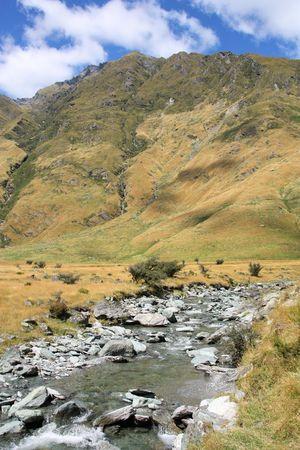 New Zealand - mountains in Mount Aspiring National Park Stock Photo - 5169270
