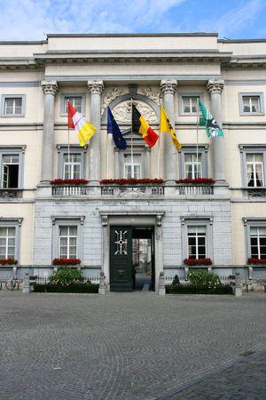 flanders: Town hall in Aalst, East Flanders, Belgium