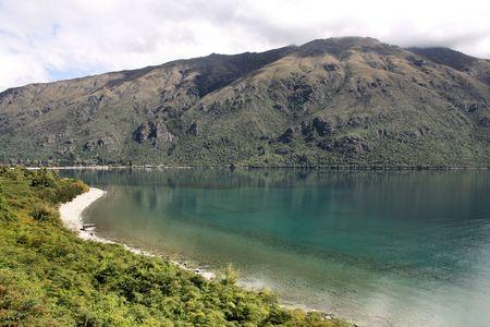 New Zealand - beautiful Lake Wakatipu, South Island photo