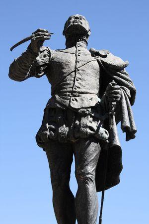 Felix Lope de Vega - famous Spanish poet and playwright. Statue in Toledo, Spain. photo