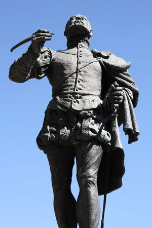 Felix Lope de Vega - famous Spanish poet and playwright. Statue in Toledo, Spain.