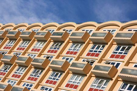 apartment blocks: Modern apartment building in Bristol, United Kingdom