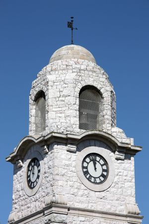 australasia: Old clock tower - Blenheim in New Zealands South Island