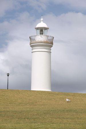 kiama: Lighthouse in Kiama, New South Wales, Australia Stock Photo