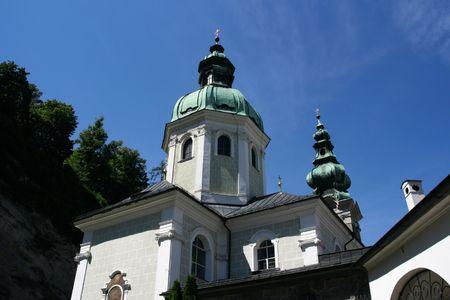 st peter: Saint Peters Abbey Church (Stiftskirche St. Peter) in Salzburg, Austria