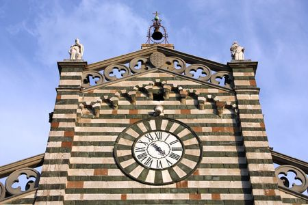 saint stephen cathedral: Prato - Cathedral of Saint Stephen, Tuscany, Italy Stock Photo