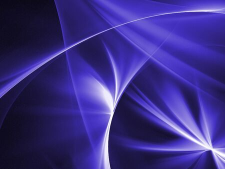Graphics texture. Computer rendered background. 3D fractal. Smooth blue abstract. Stock Photo - 6388946