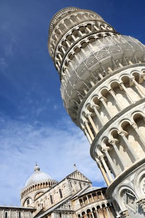 Leaning Tower of Pisa, Italy. Famous landmark, inscribed on UNESCO World Heritage List. Stock Photo - 6422563