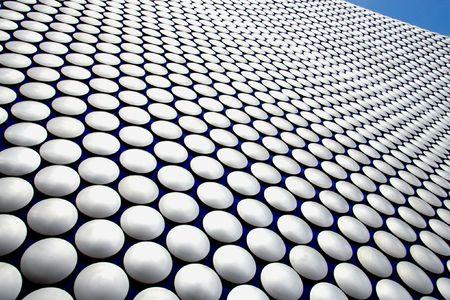 Birmingham - famous Selfridges building dotted facade. West Midlands, England. photo