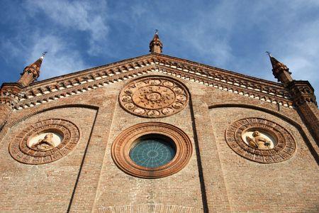 Ferrara, city in Emilia-Romagna, Italy. Chiesa di Santo Stefano (Church of Saint Stephen). Stock Photo - 6855815