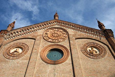 Ferrara, city in Emilia-Romagna, Italy. Chiesa di Santo Stefano (Church of Saint Stephen). Stock Photo - 6855815