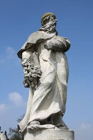 bernardino: Bernardino Trevisan, the Jesuit - statue in famous Prato della Valle square in Padua.