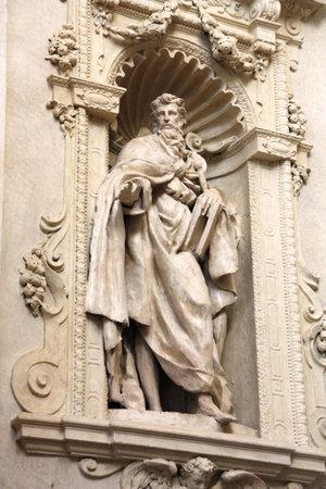 Saint Ignatius of Antioch - statue by Clemente Molli in Chiesa del Santissimo Salvatore church in Bologna, Italy Stock Photo - 6850458