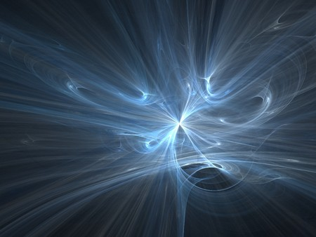 fx: Blue graphics texture. 3D fractal background abstract.