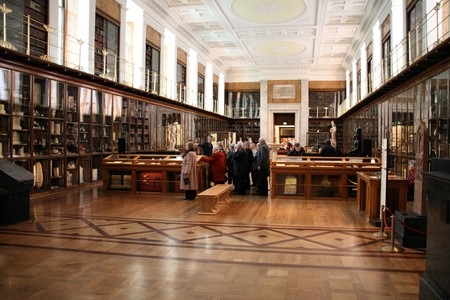 LONDON - JANUARY 20, 2009: Tourists sightseeing British Museum on January 20, 2009. British Museum is an object of criticism, because of holding artefacts from other countries including Greece, Nigeria and Egypt. Stock Photo - 7137722