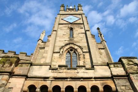 East Gate. Warwick town in Warwickshire - West Midlands, England. photo