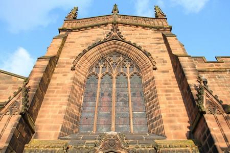Wolverhampton in West Midlands, England. St. Peters Collegiate Church. photo