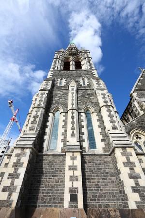 canterbury: Cath�drale anglicane ChristChurch � Christchurch, Canterbury, Nouvelle-Z�lande