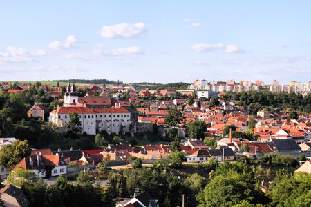 trebic: Czech Republic  Stock Photo
