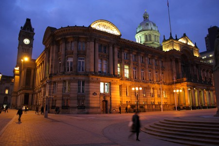 Birmingham Council House at Victoria Square. West Midlands, England. photo