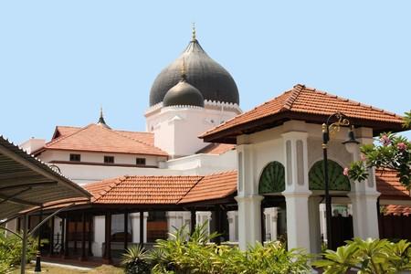 George Town, Malaysia - famous Kapitan Keling Mosque photo