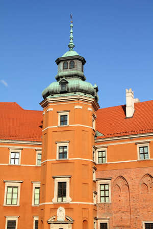 Warsaw, Poland. Old Town - famous Royal Castle. UNESCO World Heritage Site. Stock Photo - 8080294