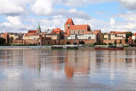 Poland - Torun, city divided by Vistula river between Pomerania and Kuyavia regions. The medieval old town is a UNESCO World Heritage Site. Stock Photo - 8239520