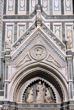 Florence cathedral view. Architecture in Italy. UNESCO World Heritage Site. Stock Photo - 8239659