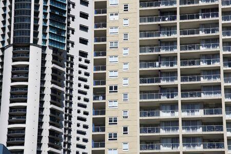 highriser: Skyscraper background - modern architecture view in Brisbane, Australia