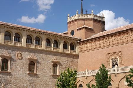 Alcala de Henares, Spain - famous landmark, archbishop's palace Stock Photo - 8432982