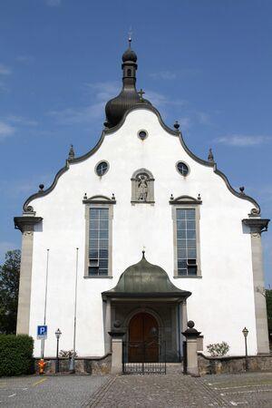 st  gallen: Iglesia de Kaltbrunn, cant�n St. Gallen de Suiza Foto de archivo