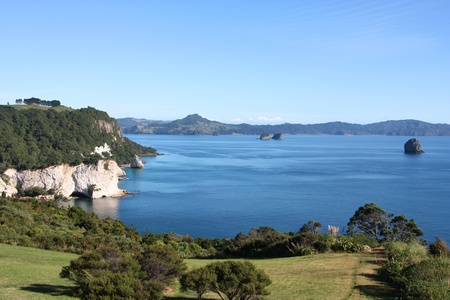 Landscape of Coromandel peninsula. New Zealand - North Island. photo