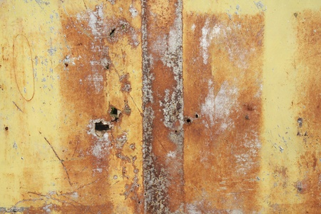 Rusty metal grunge background. Rusted steel tin abstract pattern. Stock Photo - 9416641