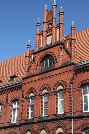 Grudziadz in Pomerania region of Poland. Post Office. Stock Photo - 9445938