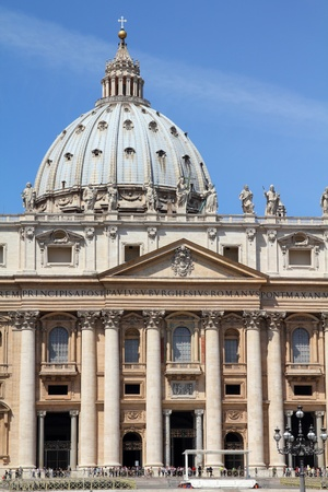 Vatican - Rome, Italy. Famous Saint Peter's Basilica. Stock Photo - 10100982