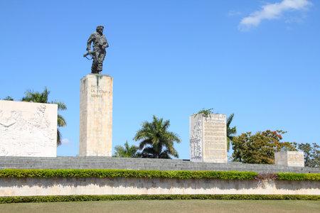 che guevara: Che Guevara mausoleum in Santa Clara, Cuba. Symbol of revolution.
