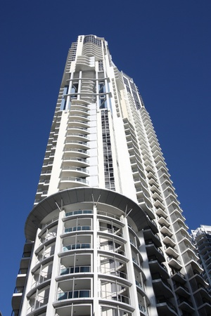 GOLD COAST, AUSTRALIA - MARCH 23: Skyline North Tower on March 23, 2008 in Gold Coast, Australia. The building finished in 2004 is 158m tall and is 6th tallest in Gold Coast city (2011).