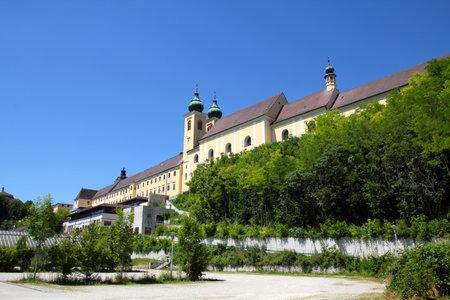 upper austria: Austria - Benedictine monastery in Lambach, Upper Austria Editorial