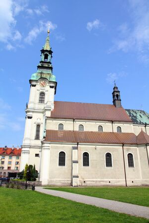 Poland - city view in Kalisz. Greater Poland province (Wielkopolska). Church of Saint Joseph. Stock Photo - 10925593