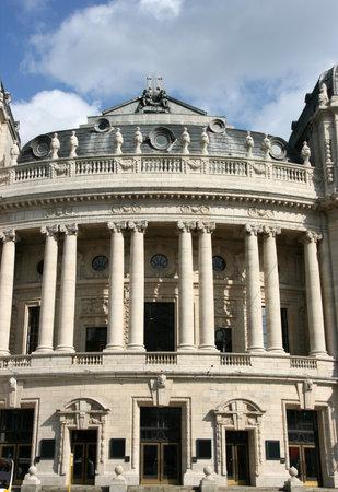 flanders: Old opera house in Antwerp, Flanders - Belgium