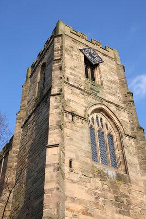 West Gate. Warwick town in Warwickshire - West Midlands, England.