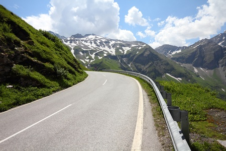 Alps in Austria. Hohe Tauern National Park. Hochalpenstrasse - famous mountain road. Stock Photo - 11207841