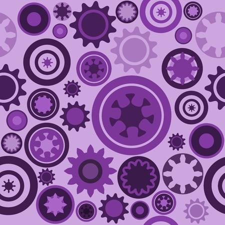 cogs: Macchina modello - senza soluzione di tessitura ingranaggi di macchinari. Abstract illustrazione con ingranaggi e parti meccaniche.