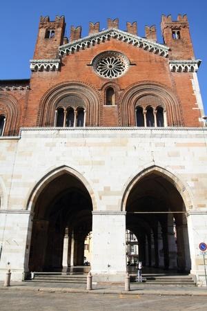 piacenza: Piacenza, Italy - Emilia-Romagna region. Palazzo Communale, also known as Il Gotico.